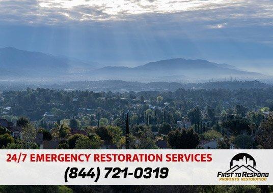 Water Damage Cleanup Granada Hills California