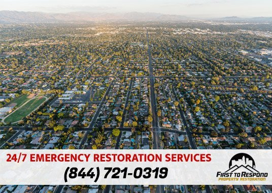 Water Damage Cleanup Northridge California