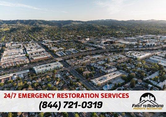 Water Damage Cleanup Reseda California