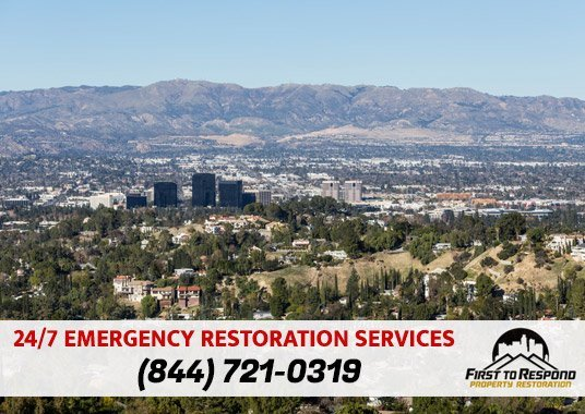 Water Damage Cleanup Woodland Hills California