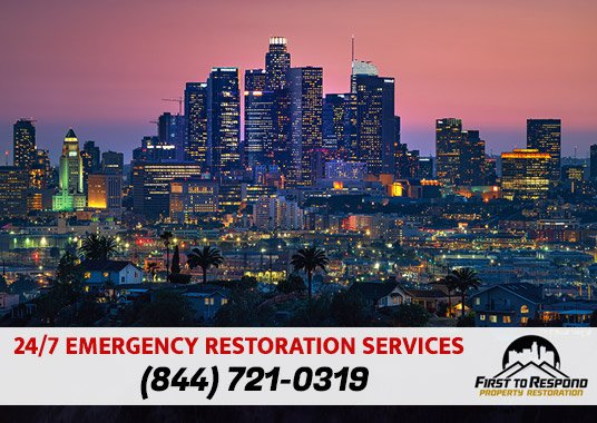 Water Damage Cleanup Los Angeles California