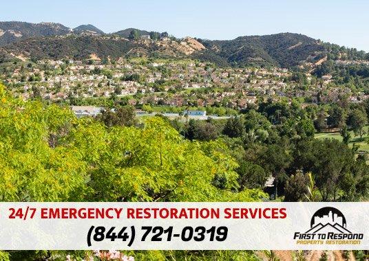 Water Damage Cleanup Calabasas California