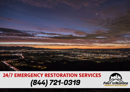 Water Damage Cleanup Canoga Park California