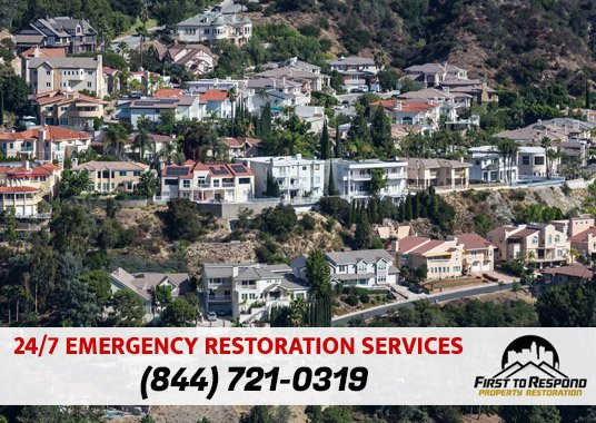 Water Damage Cleanup Glendale California